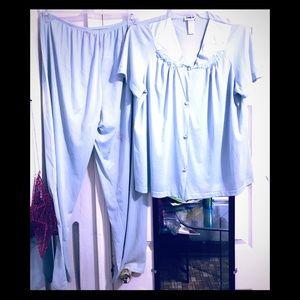 Vanity Fair Silky Sleepwear Set